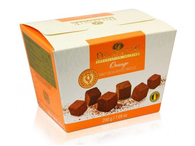 Delafaille kakaové lanyze orange 200g