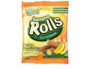 Viva Banana Rolls 100g