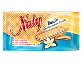 Naty oplatky vanilka 160g