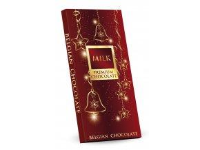 čokolada 400g milk červena Vánoce tr