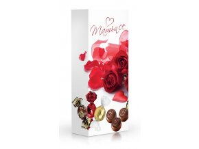 Čokoládové plněné pralinky v dárkové krabičce 84g - Mamince