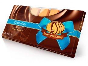 Hanny&Kathy čokoládové tyčinky tiramisu 100g