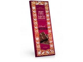 ART DECO hořká čokoláda s kousky brusinek a višní 225g