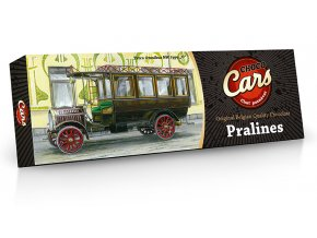 CHOCO CARS belgické plněné pralinky 150g