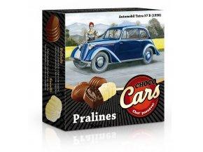 CHOCO CARS belgické plněné pralinky 50g