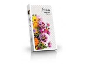 Delicups květy - pohárky s příchutí espresso 125g
