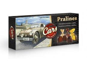 Choco Cars - čokoládové plněné pralinky 90g