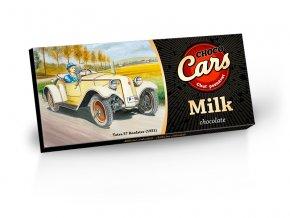 Choco Cars - mléčná čokoláda 100g