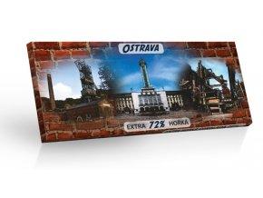 Ostrava - hořká čokoláda 100g