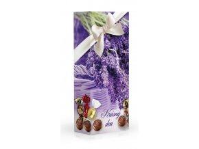 Čokoládové plněné pralinky - Levandule 84g