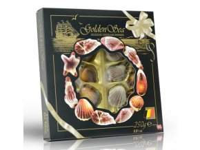 Čokoládové mořské plody 250g (černé)