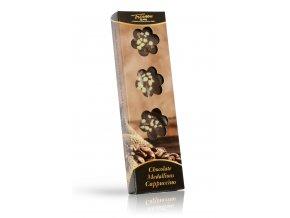 Trianon čokoládové medailonky Cappuccino 60 g (hnědý obal)