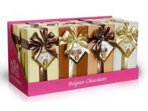 B Vystavitelný displej – Mix 8ks belgických lanýžů (2 ks ze 4 druhů) 8x250 g