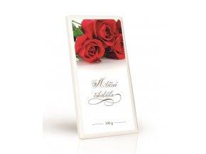 Mléčná čokoláda  Růže 100g