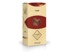 Belmaria lanýže mléčné s hoblinkami z hořké čokolády  (zlatý obal) 250g