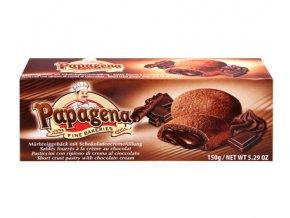 Papagena - sušenky s čokoládovokrémovou náplní 150g