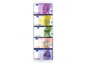 Maitre Truffout - mléčná čokoláda  Euro bankovky  5x15g