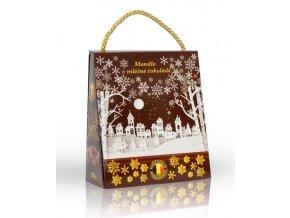 Mandle v mléčné čokoládě (hnědá taška) 200g