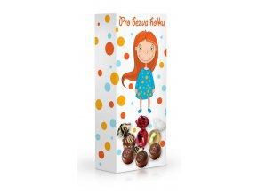 Čokoládové plněné pralinky - Pro bezva holku 84 g