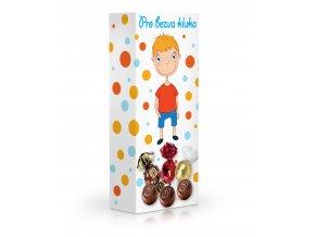 Čokoládové plněné pralinky - Pro bezva kluka 84 g