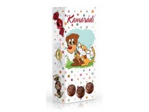 Čokoládové plněné pralinky - Kamarádi 84g