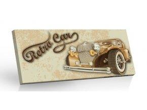 Retro Choco Cars - mléčná čokoláda 100g