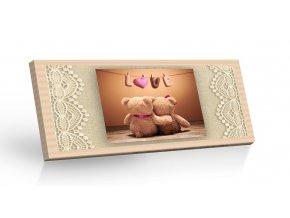 Mléčná čokoláda  Love Medvídci 100g