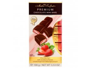 Premium Milchschokoriegel mit Erdbeerfuellung 100g 8x125g Bild 1 Zoombild
