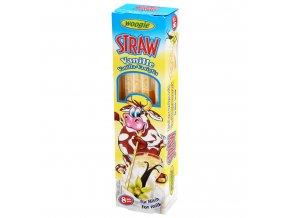 Woogie - Cukrová brčka s vanilkovou příchutí 32 g (8x4 g)