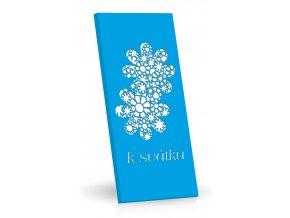 K svátku  - Hořká čokoláda s brusinkami 175g (modrá)