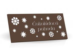 Čokoládová pohoda - Hořká čokoláda 175g  (hnědá)