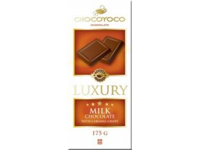 luxury mlecna s karamelovymi lupinky 175g 14ks