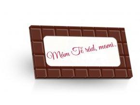 Mléčná čokoláda 50g - Doplňte své věnování