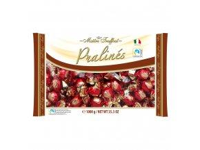 Pralinen Rot Gold Milchschokolade mit Haselnusscremefuellung 1kg Bild 1 Zoombild