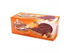 Schokoladenwaffeln mit Orangencremefuellung 110g Bild 1 Zoombild