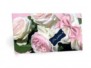 Růže - Pro potěšení - mléčná čokoláda bez přidaného cukru 100g