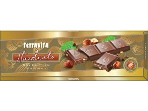 CZ EX 020 225g Terravita Milk Chocolate With Hazelnuts