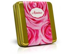Výběr čokoládových pralinek - Růže Mamince 300 g
