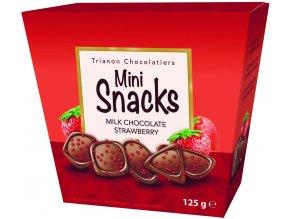 DU804 Trianon Mini Snacks 125g Milk Chocolate Strawberry Rechts 300