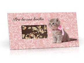 Cokolada 100g Pro bezva kočku M