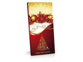 Hořká nebo mléčná čokoláda 100g andělíček