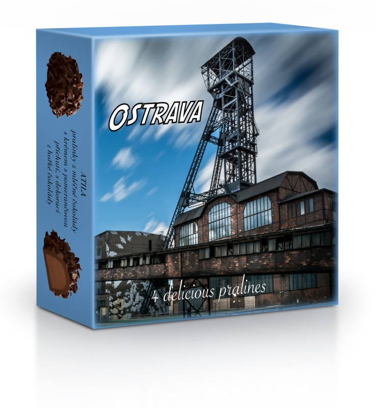 Delafaille, Belgie Ostrava - Plněné belgické pralinky Curlettes 50g