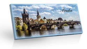 Vyrobeno v EU Mléčná čokoláda - PRAHA 100g