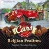 Choco Cars - plněné belgické pralinky v plechové dóze 400g