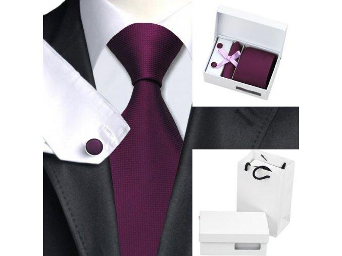 Tie 8 purple A