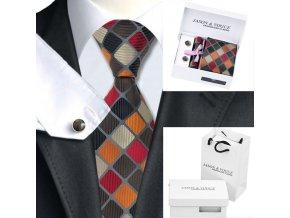 Kravata luxusní vícebarevná