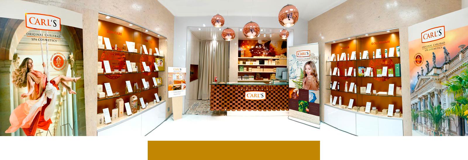 CARL'S Factory Shop - třída T. G. M, Karlovy Vary