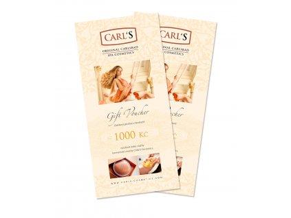 CARLS VOUCHER 1000