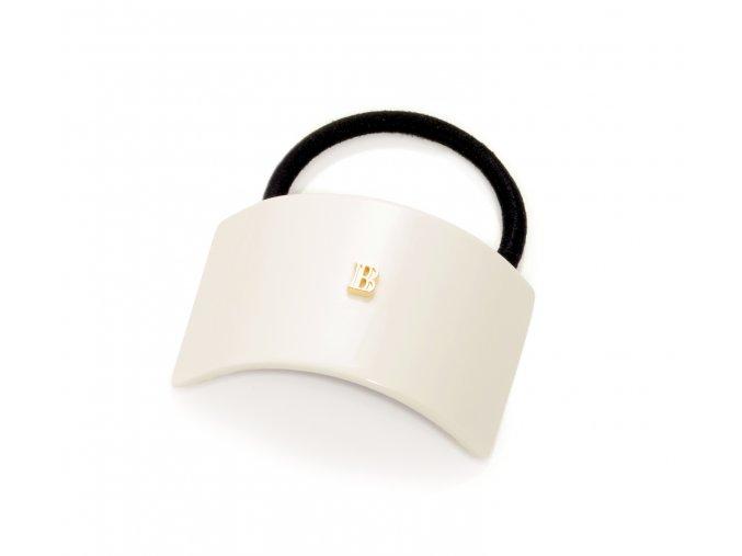 BalmainHair Accessories ElastiquePourCheveux White LR