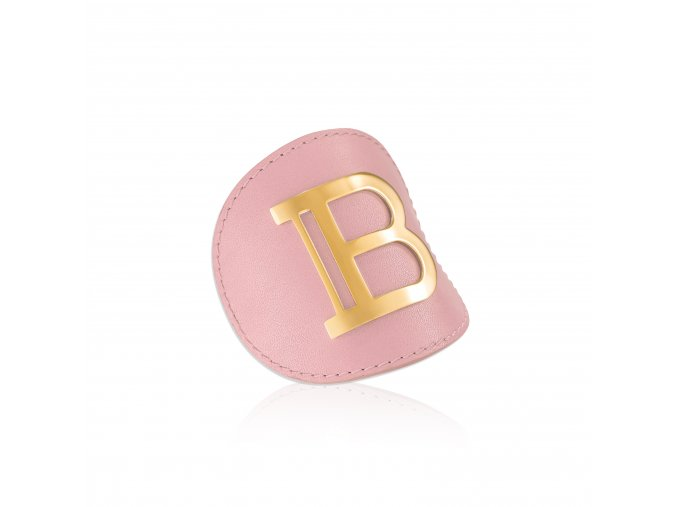 BalmainHair Accessories GenuineLeather Hairclip LimitedEdition SpringSummer20 Side